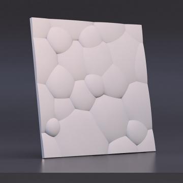 Декоративные стеновые панели Пузыри - вид спереди