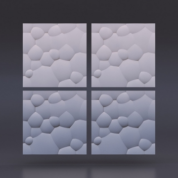 Декоративные стеновые панели Пузыри - 1 кв.м