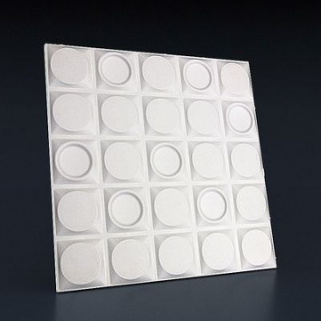 Белые стеновые панели Шашки