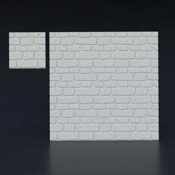 3д панели Старый камень большой - вид издалека