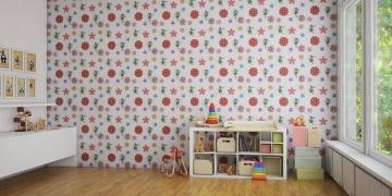 Стеновые панели Фэи для детской - пример оформления комнаты