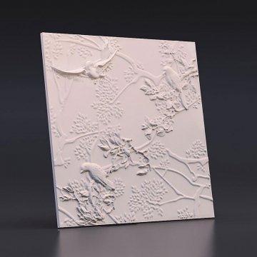 Стеновые панели Птички в детскую