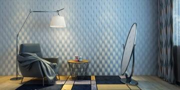 3d стеновые панели Ламелия - фото в интерьере