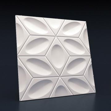 Декоративные 3d панели Титл - вид спереди