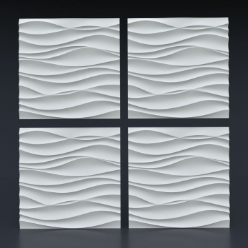 3d панели из гипса Волна Аравийская - 1 кв.м