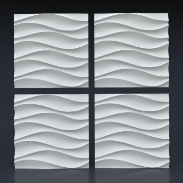 3д панели Волна симметричная - 1 кв.м