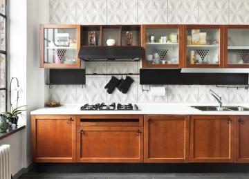 Декоративные 3d панели Титл на кухне