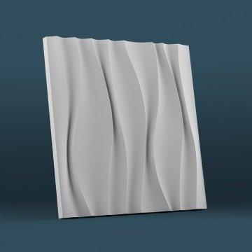 3д панели для стен Водопад - фото спереди