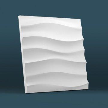 Стеновые панели Волна горизонтальная крупная