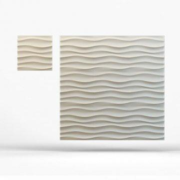 Стеновые панели Волна горизонтальная крупная - вблизи
